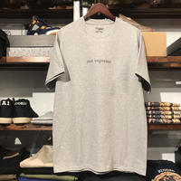 "【ラス1】RUGGED ""not supreme"" tee (Gray)"