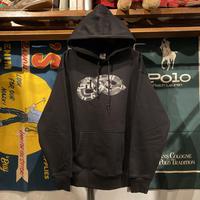 "GUALA ""SNAKE"" heavy-weight sweat hoodie (Black/12.7oz)"