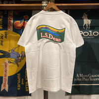 "【ラス1】RUGGED ""L.S.Dean"" tee (White)"