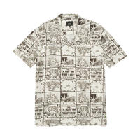 【残り僅か】HUF DAY IN THE LIFE S/S WOVEN TOP (Natural)