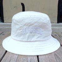 "【ラス1】RUGGED on Champion ""ARCH LOGO"" buckethat(White)"