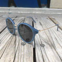 "【残り僅か】RUGGED ""Boston"" sunglasses  (Blue)"