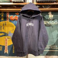 """【残り僅か】RUGGED """"SMALL ARCH"""" reverse weave sweat hoodie  (Navy/12.0oz)"""