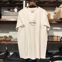 "【ラス1】RUGGED ""GONE"" tee  (White/Silver)"