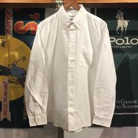 """【残り僅か】RUGGED """"rugged®︎"""" B.D oxford shirt (White)"""