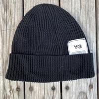 【used】Y-3 CLASSIC BEANIE (Black)