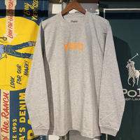 """RUGGED """"SMALL ARCH"""" L/S tee (Gray)"""