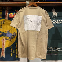 "RUGGED ""Scouter"" tee (Sand Khaki)"