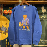 "【WEB限定】RUGGED ""POLO SAIGOU"" kids sweat (Blue/10.0oz)"