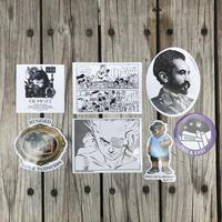 RUGGED sticker set (全7種類)