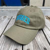 RUGGED ''ARCH LOGO'' adjuster cap (Khaki/Light Blue)