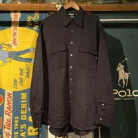 RUGGED on Vintage plane shirt (L) ⑩