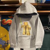 """【残り僅か】RUGGED """"POLO Master"""" kids sweat hoodie (Gray/10.0oz)"""
