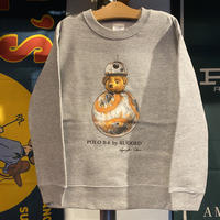 "【ラス1】RUGGED ""POLO B-8"" kids sweat (Gray/10.0oz)"
