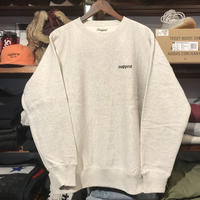 "【ラス1】RUGGED ""rugged®︎ "" reverse weave sweat(Oatmeal/12.0oz.)"