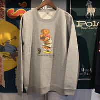 "【残り僅か】RUGGED ""POLO MARU"" sweat (Gray/10.0oz)"
