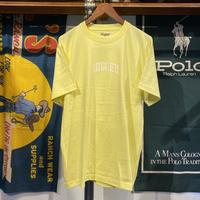 "RUGGED ""SMALL ARCH"" tee (Light Yellow)"