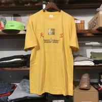 "【ラス1】RUGGED ""天空"" tee (Light Yellow)"