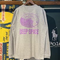 "RUGGED ""DEEP SPACE"" L/S tee (Gray)"