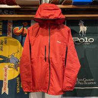 "【WEB限定】RUGGED ""real/fake""light weight nylon jacket (Red)"