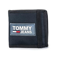 【WEB限定/ラス1】TOMMY JEANS URBAN MINI coin pocket wallet (Black)