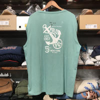 【残り僅か】POLO RALPH LAUREN anchor poket L/S tee (Lime Green)