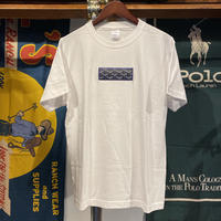 "【残り僅か】AnotA ""GOX"" tee (White/Navy)"