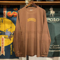 "【ラス1】RUGGED ""SMALL ARCH"" L/S tee (Brown)"