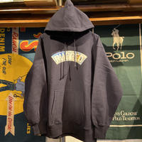 """RUGGED """"SNOW ARCH"""" heavy-wight hoodie(Navy/12.0oz.)"""
