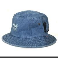 【ラス1】 Herschel denim bucket hat