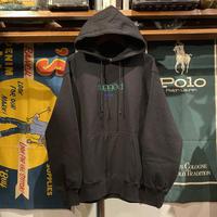 """【ラス1】RUGGED """"BOUTIQUE LOGO"""" reverse weave hoodie (Black/12.0oz)"""