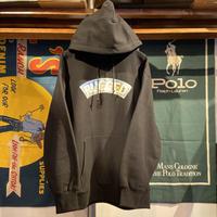 """【残り僅か】RUGGED """"SNOW ARCH"""" heavy-wight hoodie(Black/12.0oz.)"""