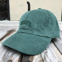 """RUGGED """"Small Arch"""" corduroy adjuster cap (Green)"""