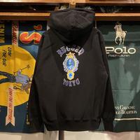 """【ラス1】RUGGED """"JAH SAPPHIRE"""" reverse weave sweat hoodie (Black/12.0oz)"""