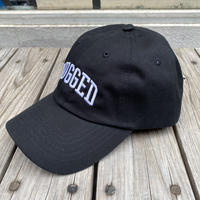 RUGGED ''ARCH LOGO'' adjuster cap (Black×White)