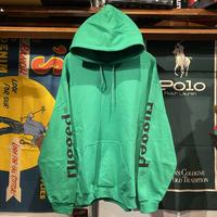 """【ラス1】RUGGED """"rugged®︎"""" sleeve logo hoodie (Green)"""
