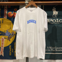 "【残り僅か】RUGGED ""SMALL ARCH"" tee (White/Blue)"