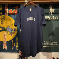 "【web限定】RUGGED ""SMALL ARCH""  roundtail tee (Navy)"