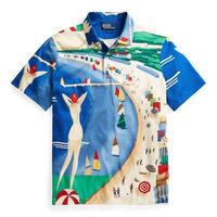 """【ラス1】POLO RALPH LAUREN """"RIVIERA ITALIA"""" polo shirt"""