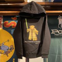 """【残り僅か】RUGGED """"POLO Master"""" kids sweat hoodie (Black/10.0oz)"""
