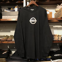 "【残り僅か】RUGGED ""GONE"" L/S tee  (Black/Silver)"