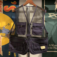 【ラス1】RUGGED mesh vest (Navy)