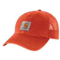 【Web限定】Carhartt odessa velcro mesh cap (Harvest Orange)
