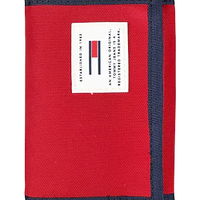 【WEB限定/ラス1】TOMMY JEANS ORIGINAL trifold wallet (Red)