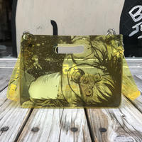 【残り僅か】AKIRA Art of Wall x nana-nana A5 Clear Bag (Yellow)