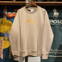 "RUGGED ""SMALL ARCH"" fur sweat (Beige)"