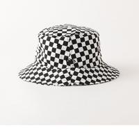 【残り僅か】Newera checker flag bucket hat (Black)