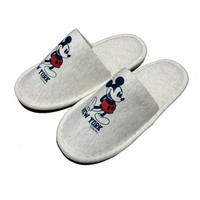 "【残り僅か】SECOND LAB ""MICKEY NY"" Room Shoes"