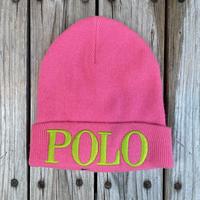 【ラス1】POLO RALPH LAUREN knit cap (pink)
