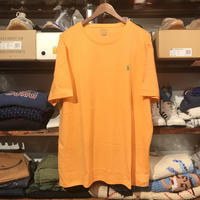 【 残り僅か】POLO RALPH LAUREN smallpony tee (Light Orange)